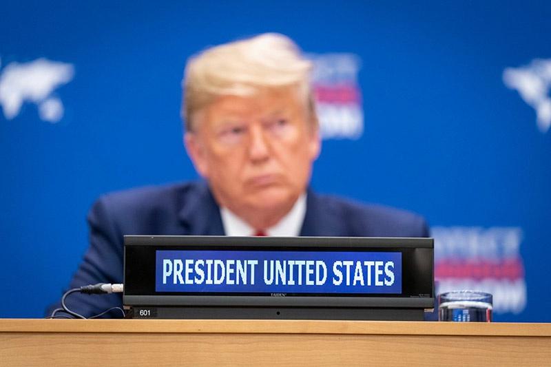 Президент Дональд Трамп возложил вину на Тегеран.