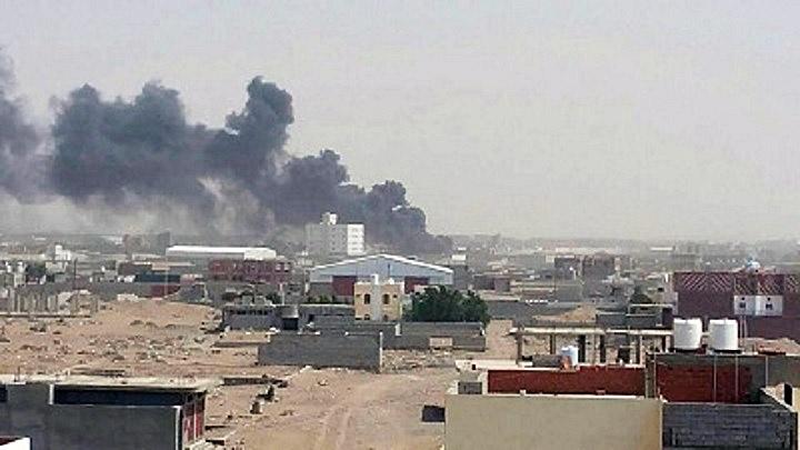 Саудовская Аравия развернула военную операцию к северу от портового города Ходейда.