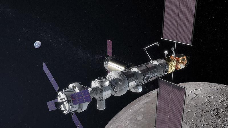Проект международной орбитальной станции Gateway.