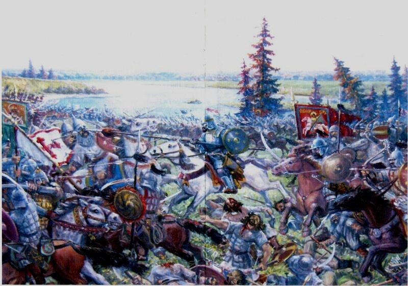 Шелонская битва 14 июля 1471 г.
