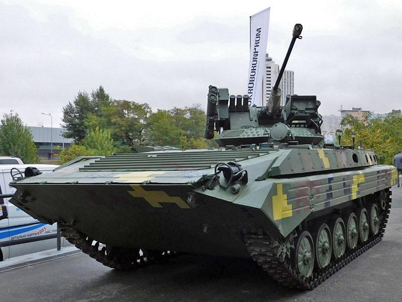 Украина готовится принять на вооружение БМП-1УМД, броня которых не удержит даже крупнокалиберную пулю.