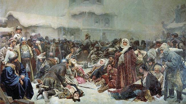 «Евроинтеграция» от Марфы Посадницы и сегодня не может уничтожить Россию