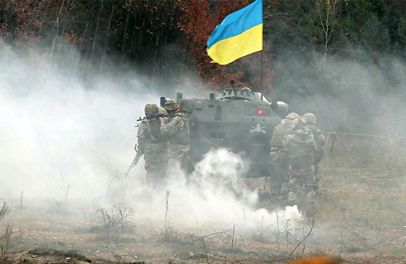 Во время войны на Донбассе «украинская армия» не добилась ни одной, сколько-нибудь значительной победы.