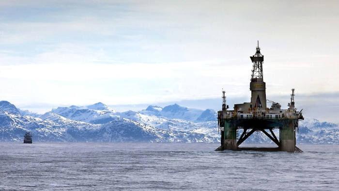 Месторождения нефти в Гренландии оцениваются в 50 млрд баррелей.