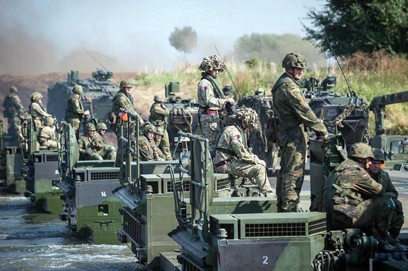 Объединённая оперативная группа повышенной готовности состоит из многонациональной бригады (пять батальонов, около 5.000 солдат).