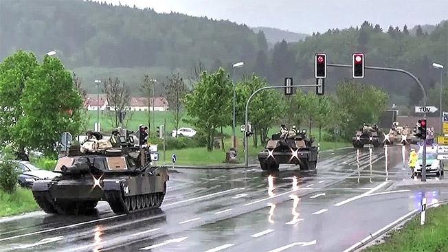 Зачем американская дивизия собирается ломать ухоженные немецкие дороги?