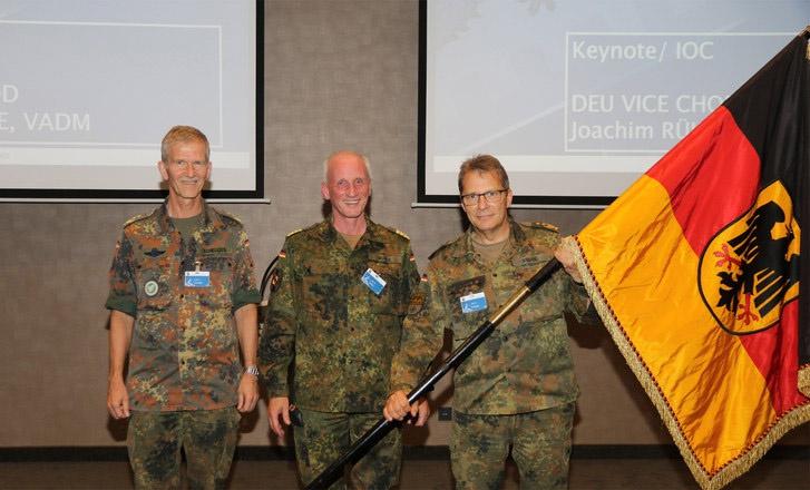 Церемония открытия в немецком Ульме командного центра НАТО по тыловому обеспечению и логистике (Joint Support and Enabling Command, JSEC).