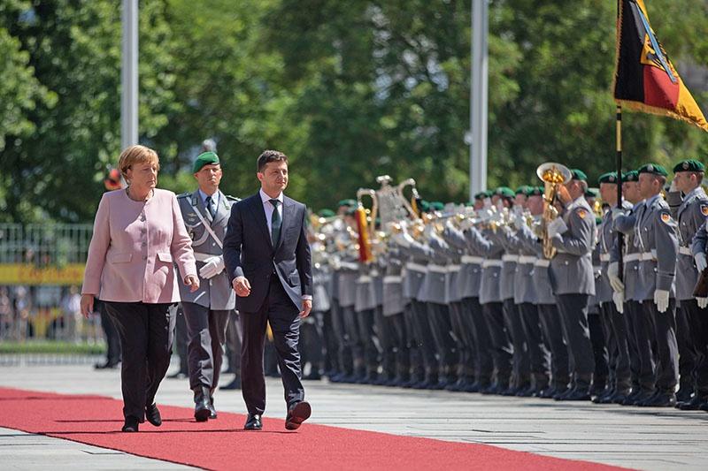 Германия не прочь закрепиться на Украине.
