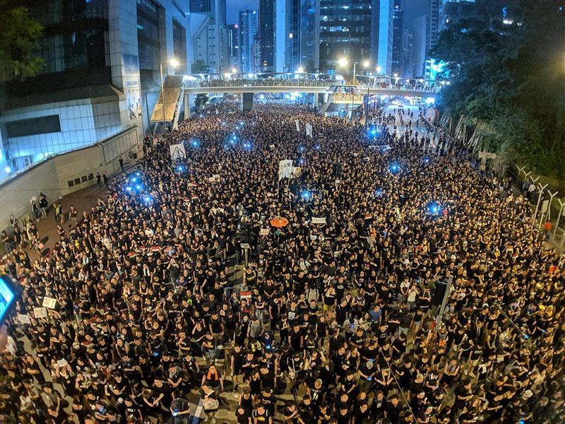 Протесты 2019 года в Гонконге против законопроекта об экстрадиции.