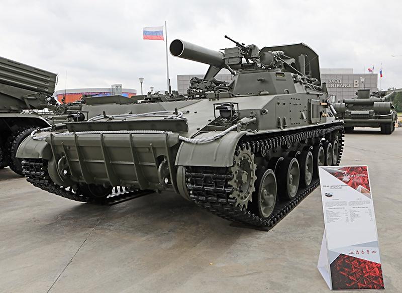 Самоходный миномёт 2С4 «Тюльпан».