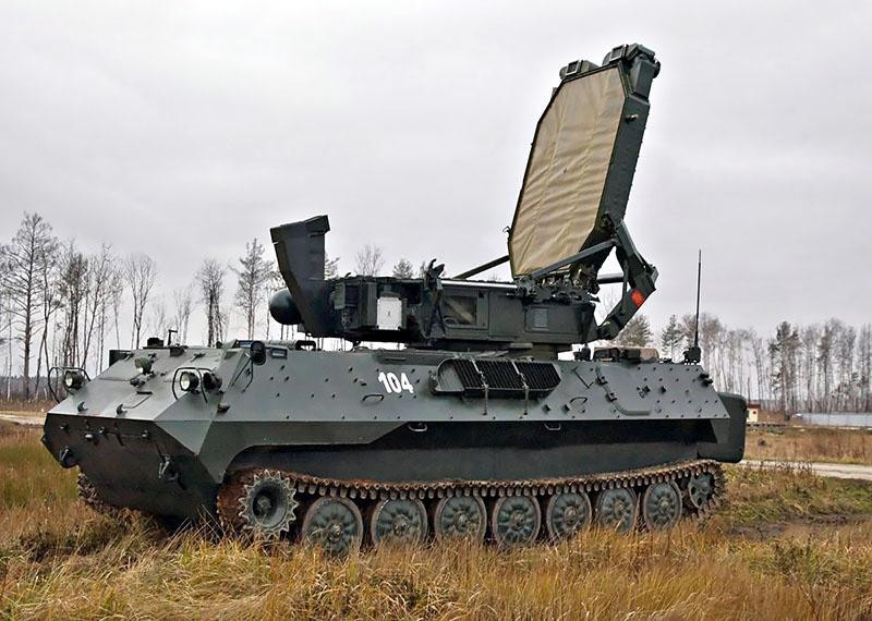 Радиолокатор контрбатарейной стрельбы 1Л219 «Зоопарк».