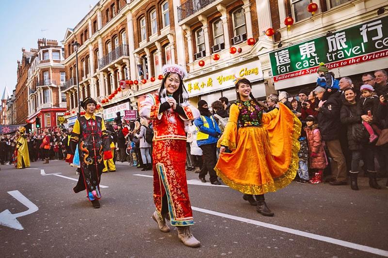 Китайский новый год в Лондоне.