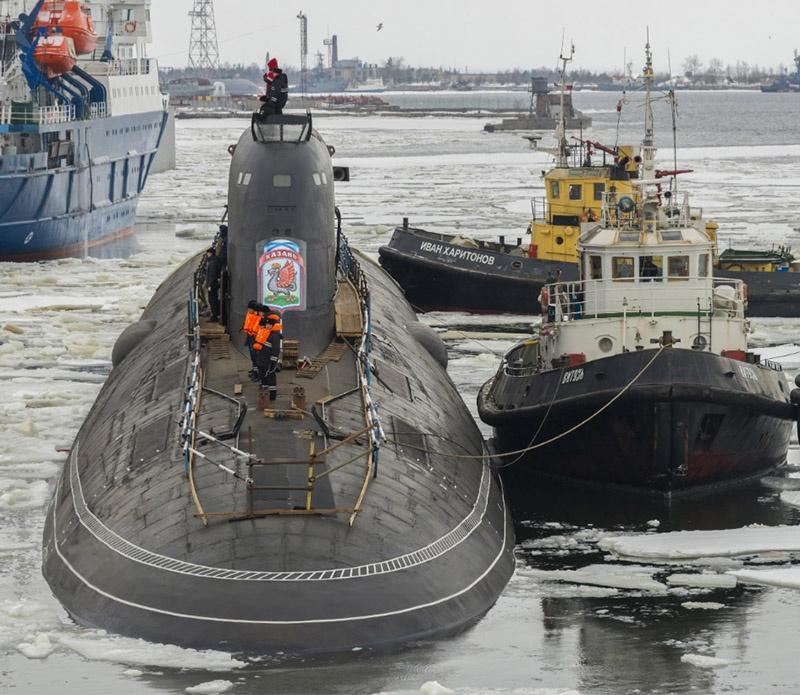 Атомный подводный крейсер К-561 «Казань».