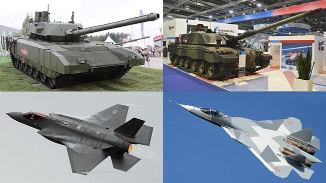 Военный потенциал познаётся в сравнении. И сравнение это в пользу России!