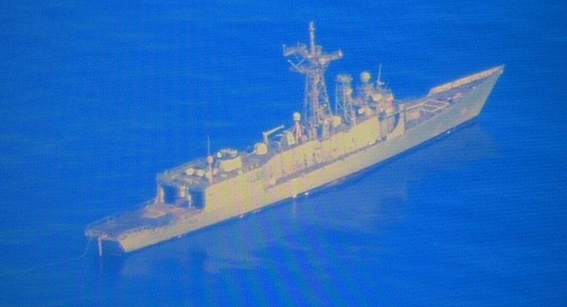 USS Ford (FFG 54) готов к расстрелу.