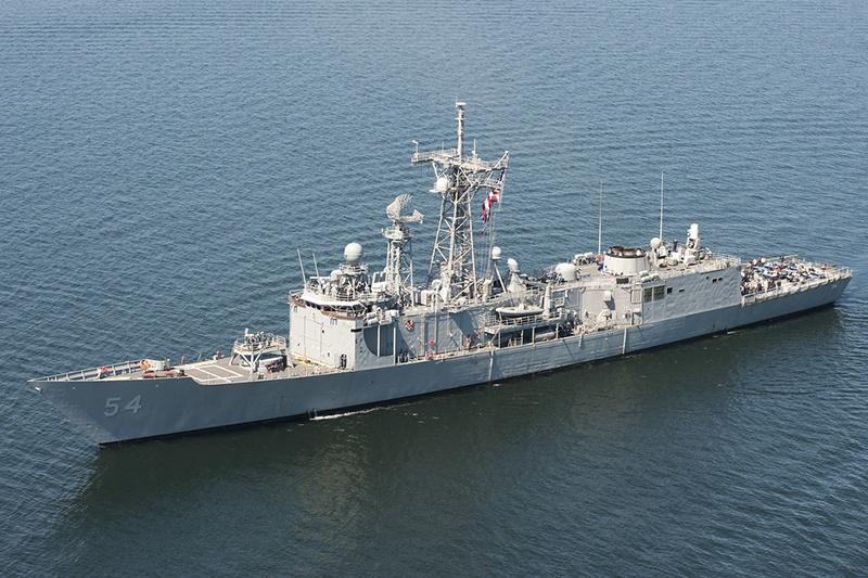 Фрегат USS Ford был «рабочей лошадкой» американского флота.