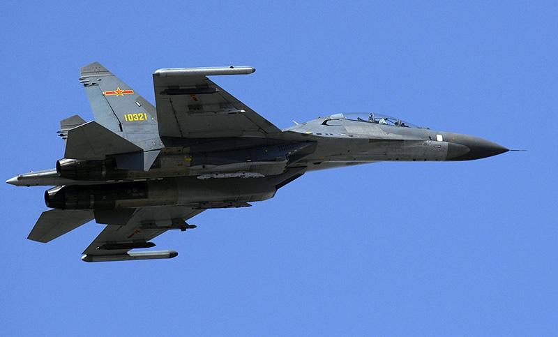 Су-27СК был усовершенствован до варианта многоцелевого истребителя «Цзянь-11В».