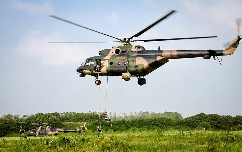 Армия КНР активно используют российские вертолеты.