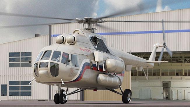 Российский вертолёт избавился от украинской зависимости