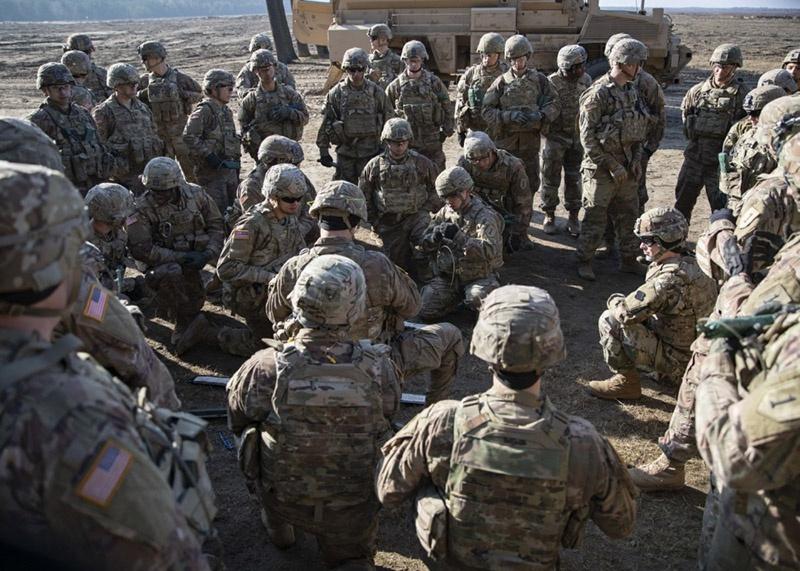 Более 500 военнослужащих США прибыли в Литву в рамках инициативы НАТО Atlantic Resolve.