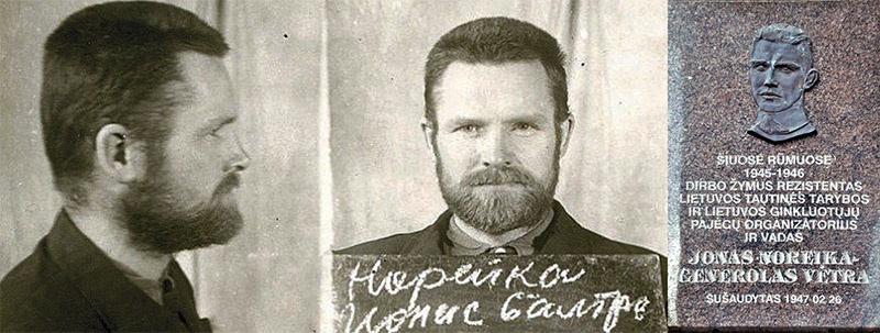 В Литве ультраправые группировки были возмущены снятием мемориальной доски пособнику нацизма Йонасу Норейке.