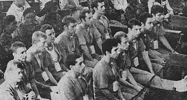 В 1976 году в Луанде состоялся первый в мире судебный процесс над взятыми в плен иностранными наёмниками.