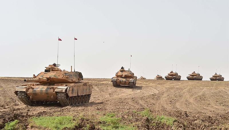 Турция развернула операцию «Источник мира» на севере Сирии.