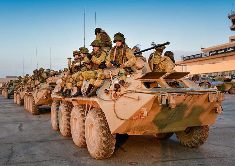 Россия оказала военную помощь Сирии.