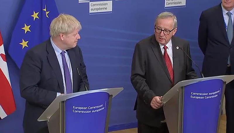 Лондон всерьёз или чтобы держать Брюссель в напряжении продолжает вести подготовку к радикальному сценарию - выходу из ЕС без сделки.