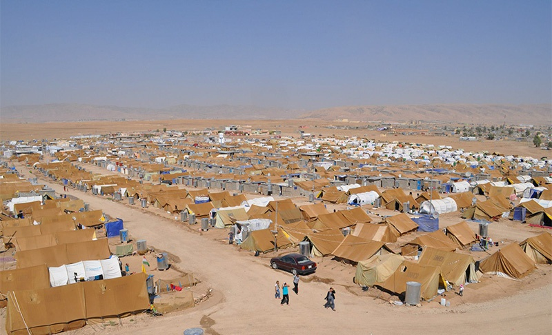 На миллиарды полученные от ЕС были созданы лагеря для беженцев в Турции.