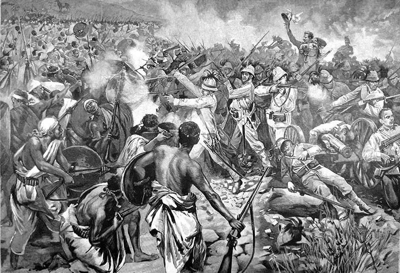 Разгром итальянского экспедиционного корпуса в Эфиопии.
