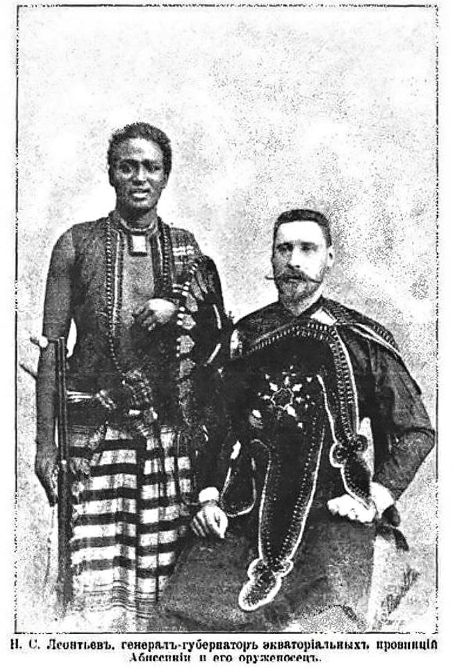 Есаул Николай Леонтьев ставший одним из первых российских военных советников в Африке.