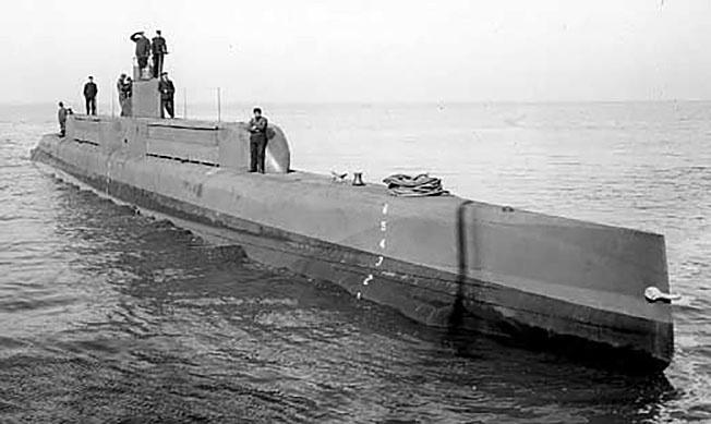 Британская подводная лодка, на которой готовили японских моряков.