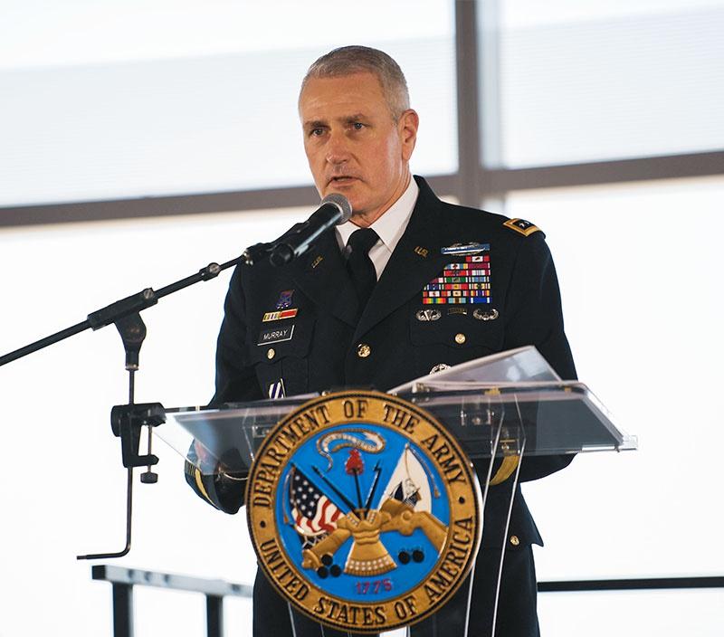 Глава Командования модернизации СВ генерал Джон Мюррей.