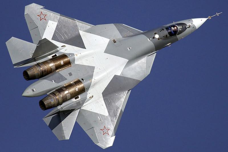 Некоторые перспективные системы шестого поколения уже испытываются на новейшем истребителе Су-57.