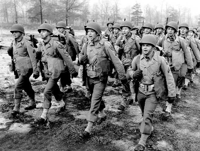 В годы Второй мировой войны армия США обладала внушительным могуществом.