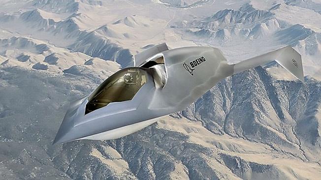 Корпорация «Боинг» разработала прототип малозаметного истребителя-бомбардировщика Bird of Prey.