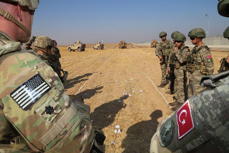 Армии США и Турции чуть не вступили в открытые столкновения в Сирии.