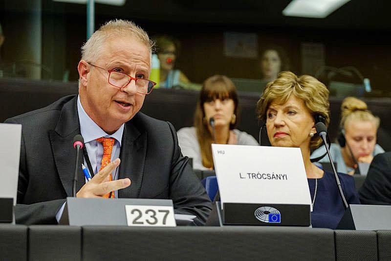 К венгру Ласло Трочани возникли вопросы, как он намерен совмещать деятельность на европейском уровне с руководством своей крупной юридической фирмой.