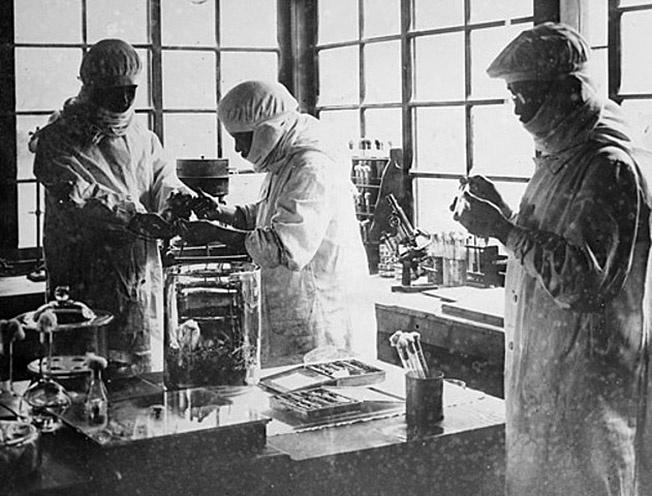 Лаборатория бактериологического оружия.