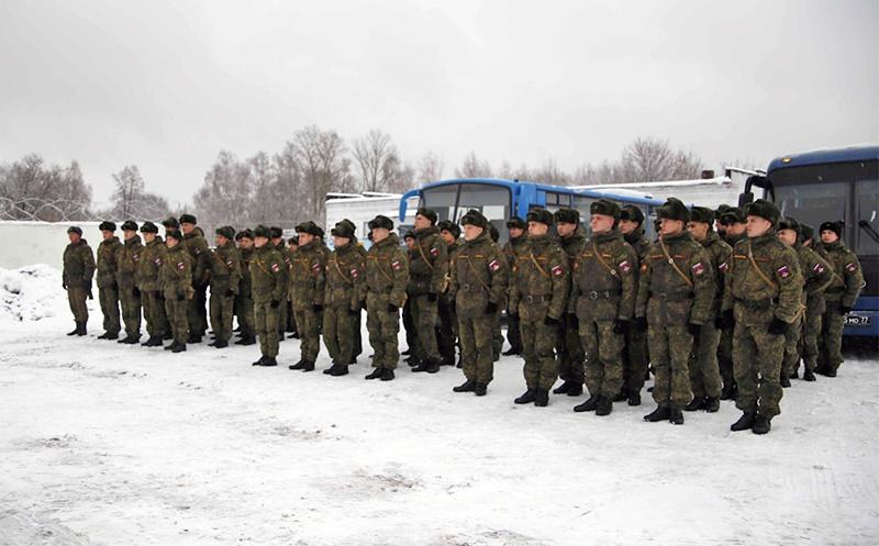 Полевые занятия курсантов Военного университета.