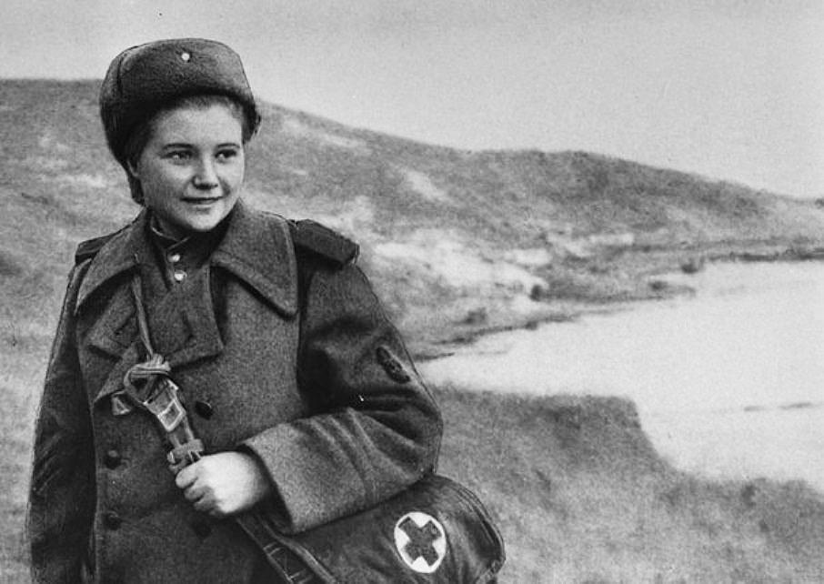 Екатерина Дёмина (Михайлова) - легендарная Катюша из морской пехоты.