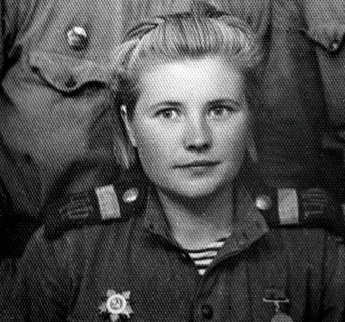 Екатерина Илларионовна Дёмина (девичья фамилия - Михайлова) - единственная женщина, служившая в разведке морской пехоты.