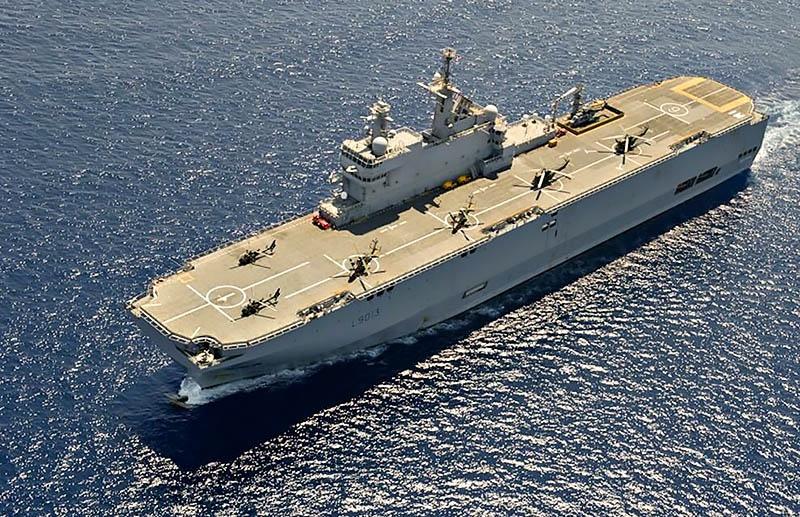 Для Арктики были разработаны корабли «Мистраль», которые Россия так и не получила.