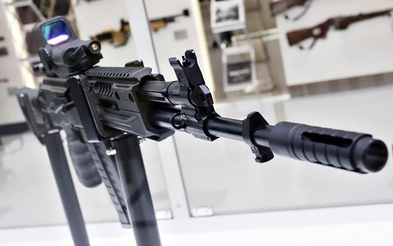 Опытный автомат АК-308, разработанный под калибр 7.62х51 мм NATO (.308 Win).