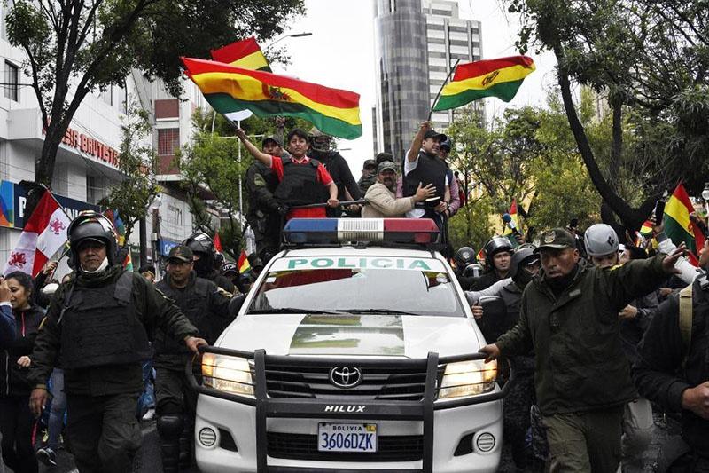 Боливия испытала на себе тяжесть «цветной революции».