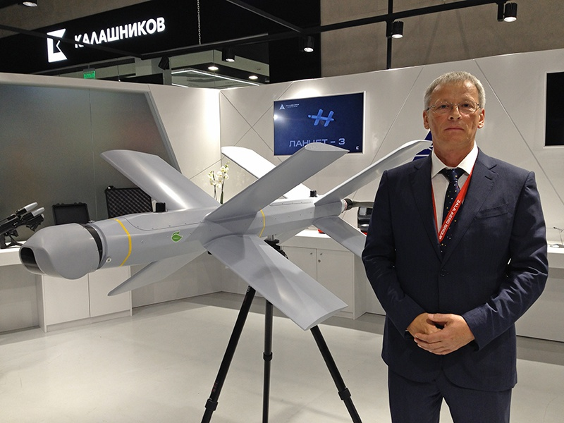 Руководитель компании ZALA AERO Александр Захаров.