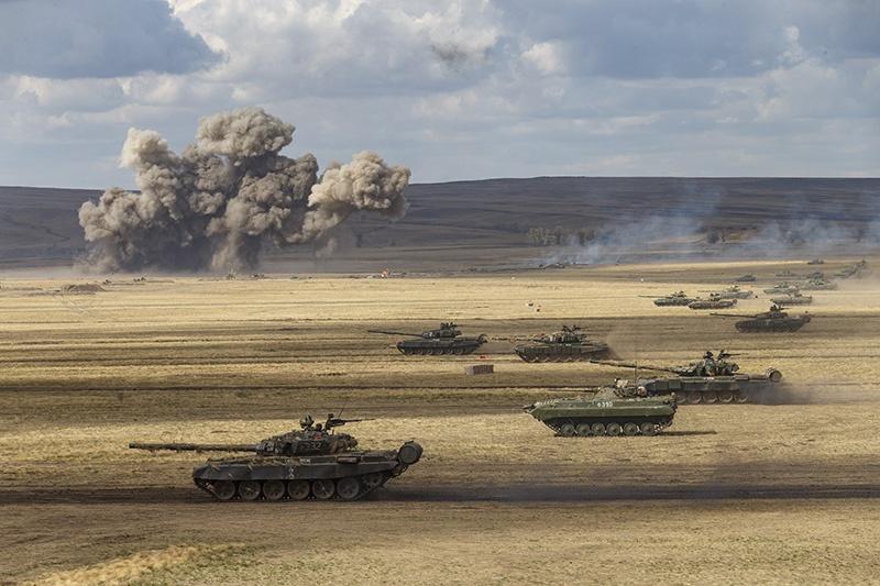 Скапаротти отметил и активную модернизацию техники российских сухопутных войск.