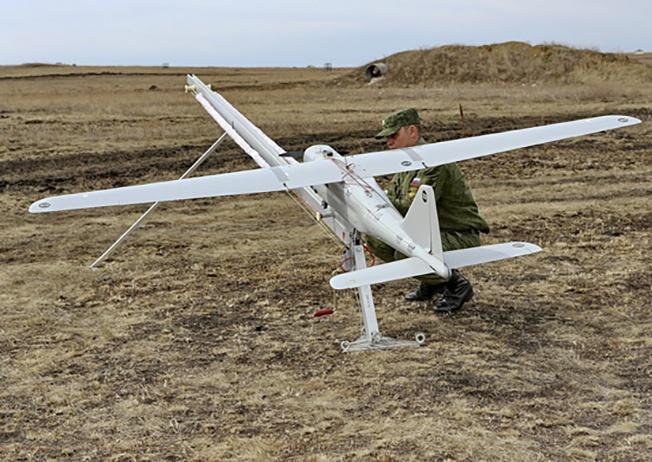 Беспилотный летательный аппарат «Орлан-10» применяется в Сирии.