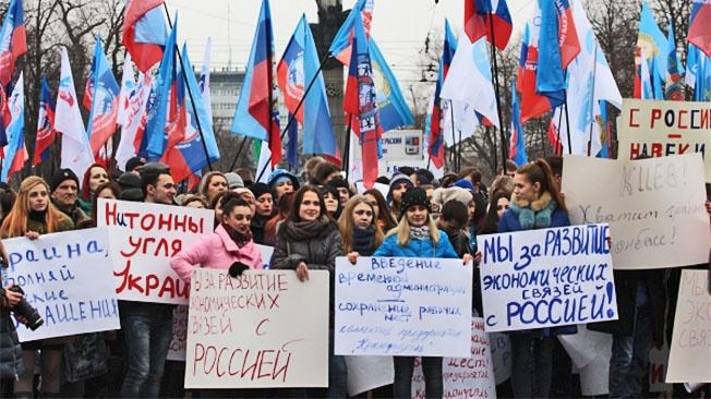 Донбасс готов повторить участь Крыма
